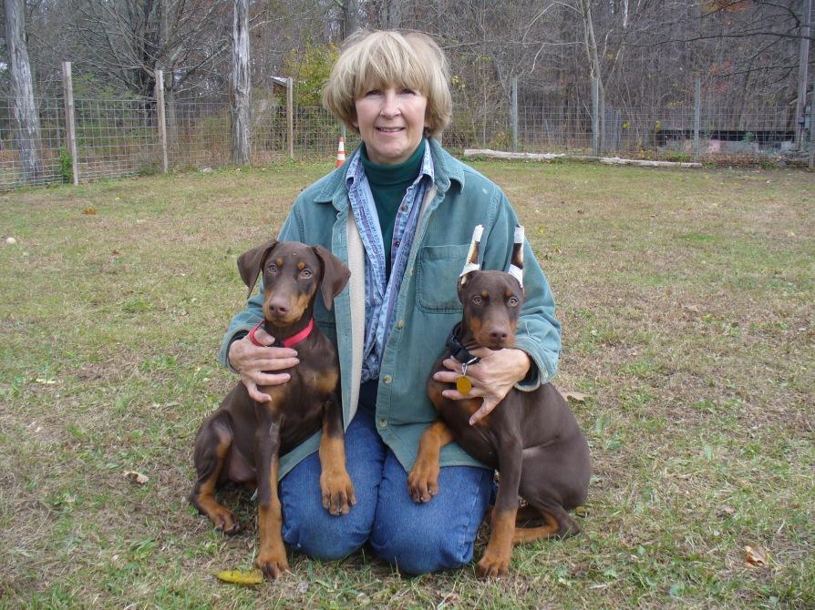 10-31-10 Zeta Pups - Vettel and Bonnie